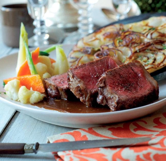 Faux-filet de bœuf au whiskey irlandais